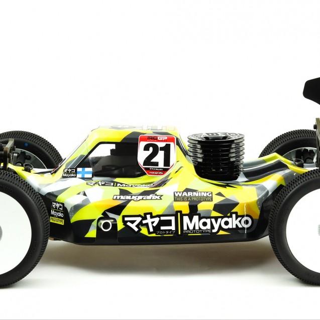 マヤコ Mayako PROTOTYPE 1:8th Nitro Buggy